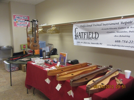 Hatfield Guitar and Repair Sponsor