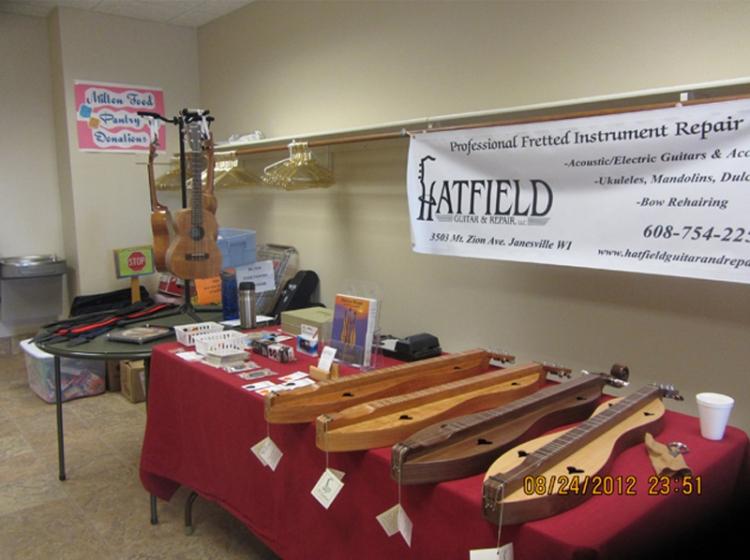 Hatfield Guitar and Repair Sponsor